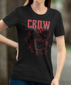Woman witch Tee featuring Crows