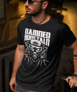 Man black Tee with a Skull