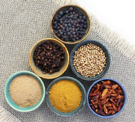 Spices for kitchen witchery