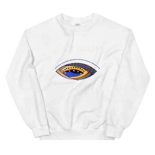 Feminist Witch Sweater white