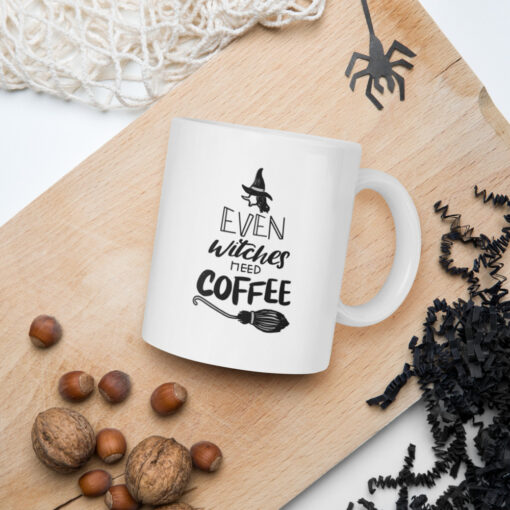 Even Witches Need Coffee Mug